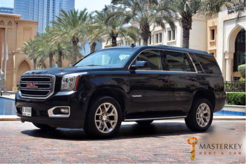 GMC Yukon for Rent in Dubai 1