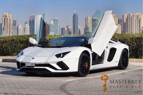 Lamborghini Aventador S Roadster 2018 3