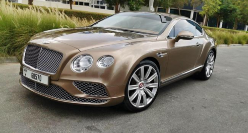 Bentley GT Coupe 1