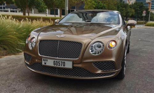 Bentley GT Coupe 4