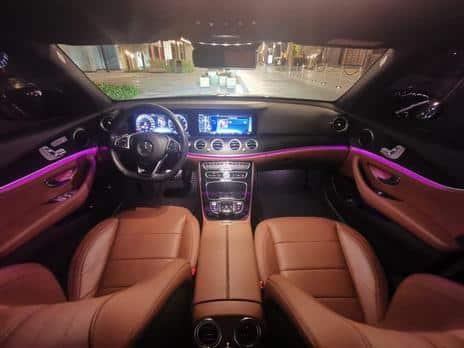 Hire a Mercedes E300 6