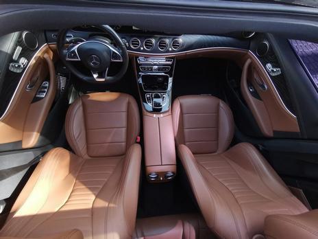 Hire a Mercedes E300 7