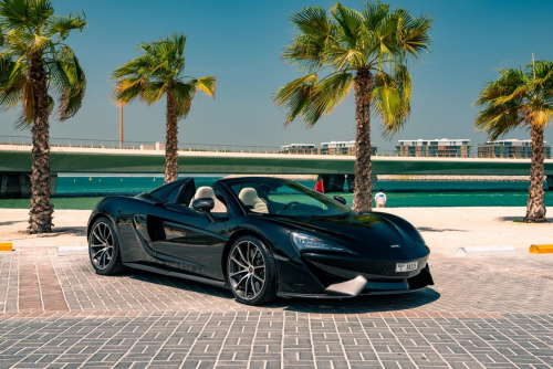 Rent McLaren 570S Spider In Dubai 2