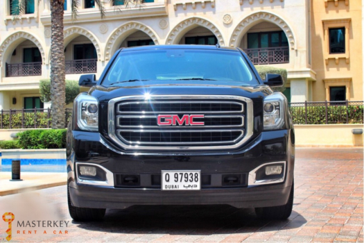 GMC Yukon for Rent in Dubai 2