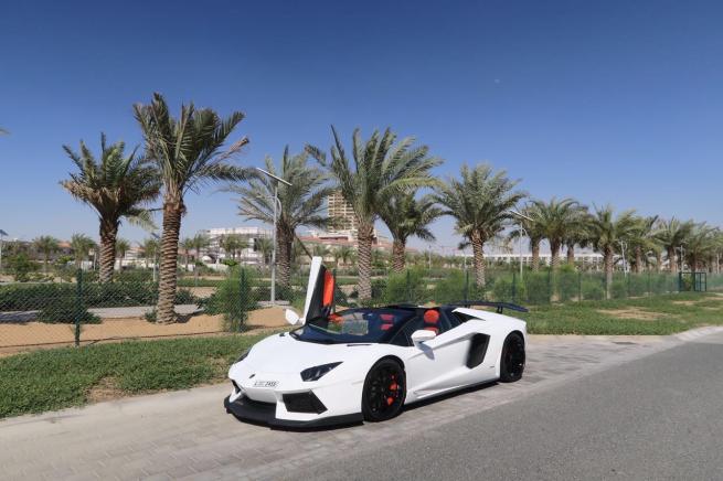 Lamborghini Aventador Roadster 2