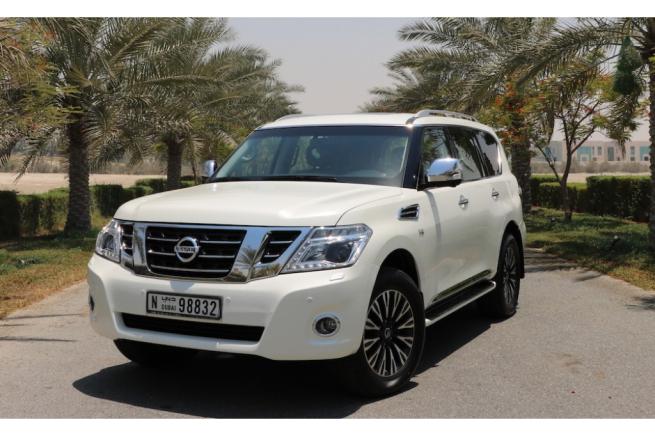 Nissan Patrol Platinum2018 1