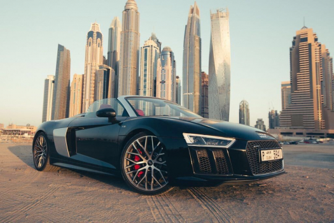 Audi R8 spyder 1