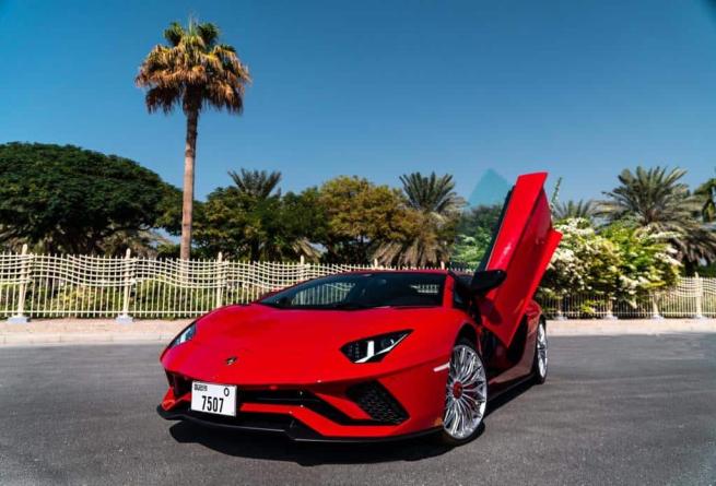 Lamborghini Aventador S 11