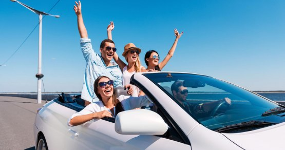 Main occasions for renting a car