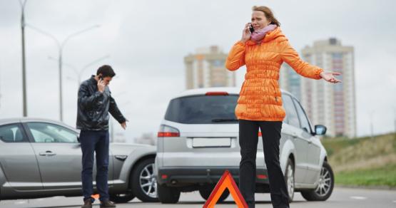 نصائح يجب اتباعها في حالة وقوع حادث سيارة